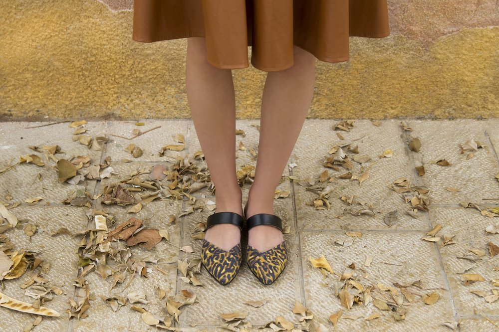 נעלי סירה מנומרות, EMY, 250₪ ביריד סופרמרקט (צילום: יח״צ)