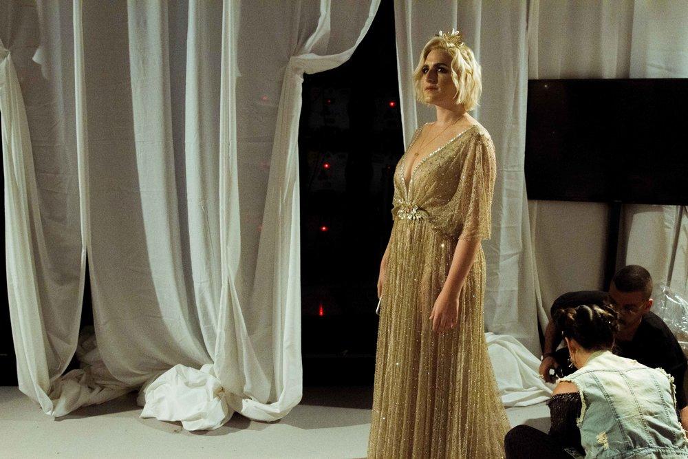 ״היתה כחולמת״ דוגמנית הפלאס  ריי שגב בתצוגת הפתיחה של שבוע האופנה בסימן שינוי אידאל היופי