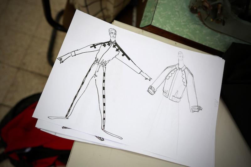 איור אופנה של מעוז דהאן עבור בן אל תבורי