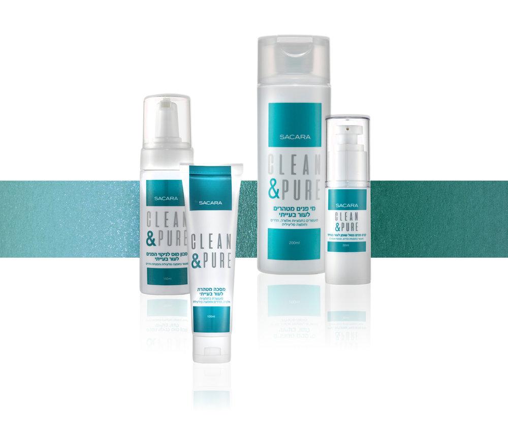 SACARA  סבון מוס לניקוי הפנים לעור בעייתי- ACN- Saver foaming cleanser