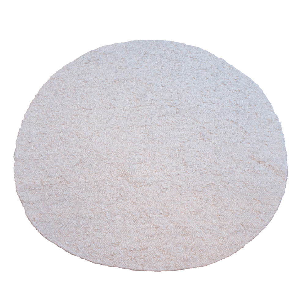 Round curly mohair + karakul rug in white.jpg