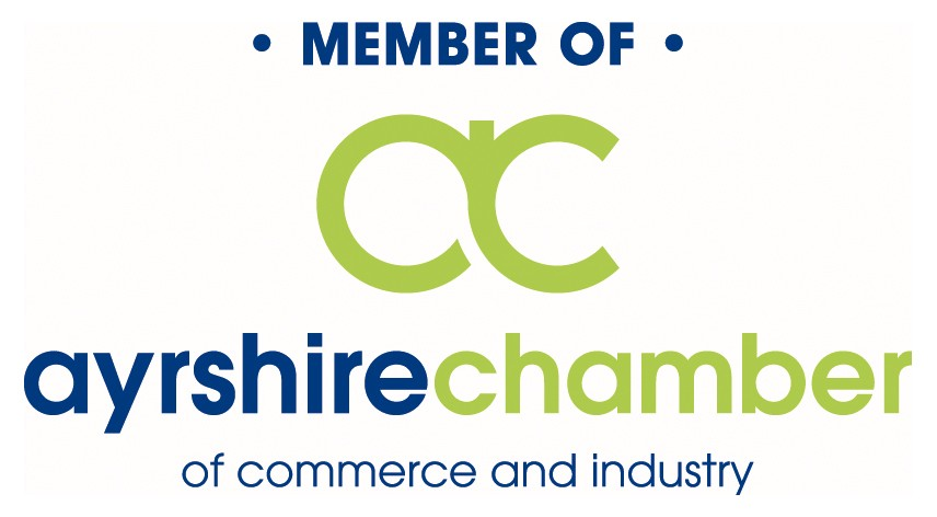 Member of the Ayrshire Chamber of Commerce and Industry Logo