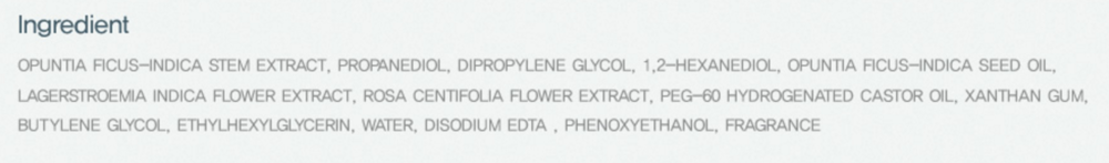 Ingredients list for the Huxley Toner taken from http://www.huxley.co.kr/