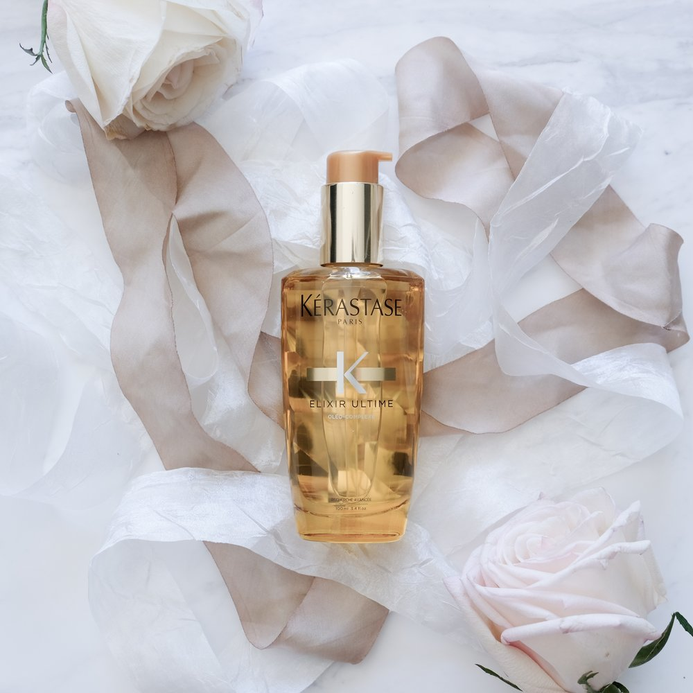 「KÉRASTASE ELIXIR ULTIME HAIR OIL (100ML)」的圖片搜尋結果