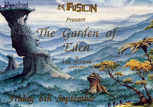 Fusion - Garden Of Eden 1991