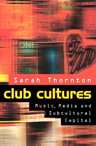 Club Cultures sees Sarah Thornton take ecstasy for the first time; ethnography that certainly wouldn't get published these days.