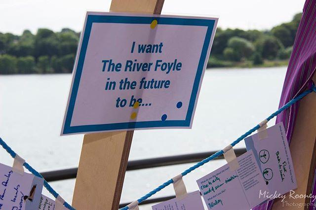 Our Future Foyle, a community created vision. #RiverFoyle #OurFutureFoyle #FoyleBubbles #FoyleReeds #FoyleExperience