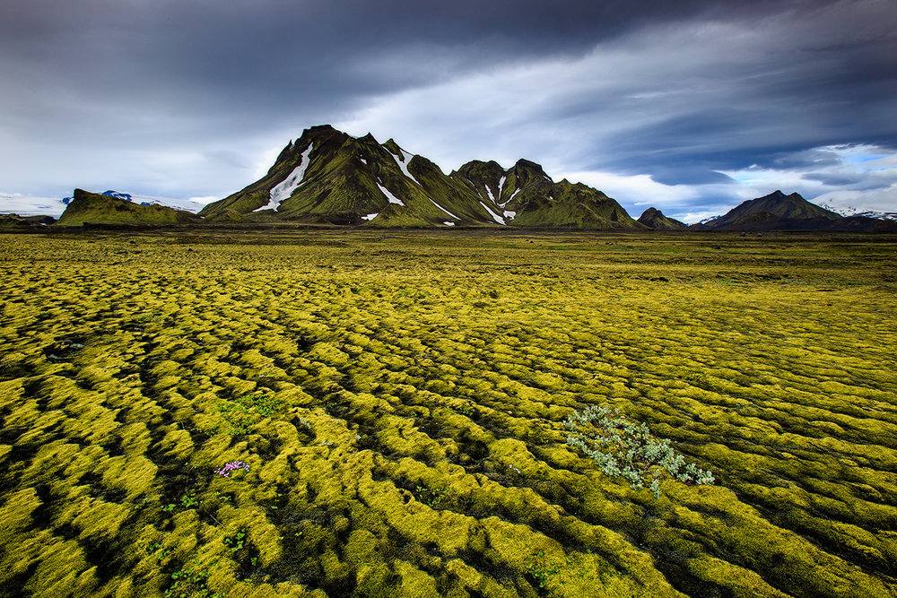 Emstrur, IJsland