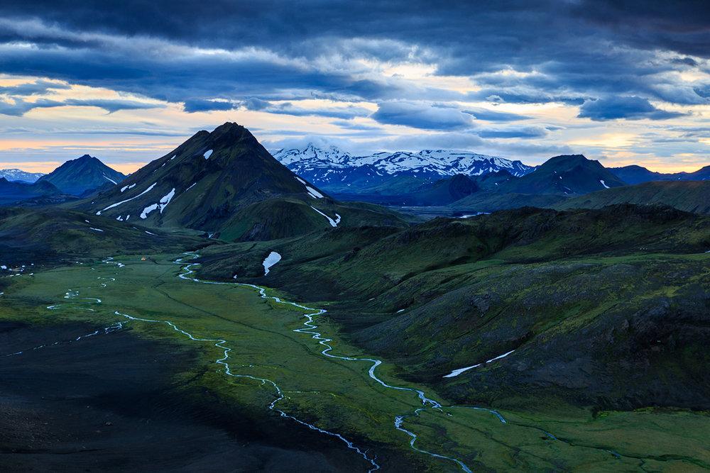 Hvanngil, IJsland