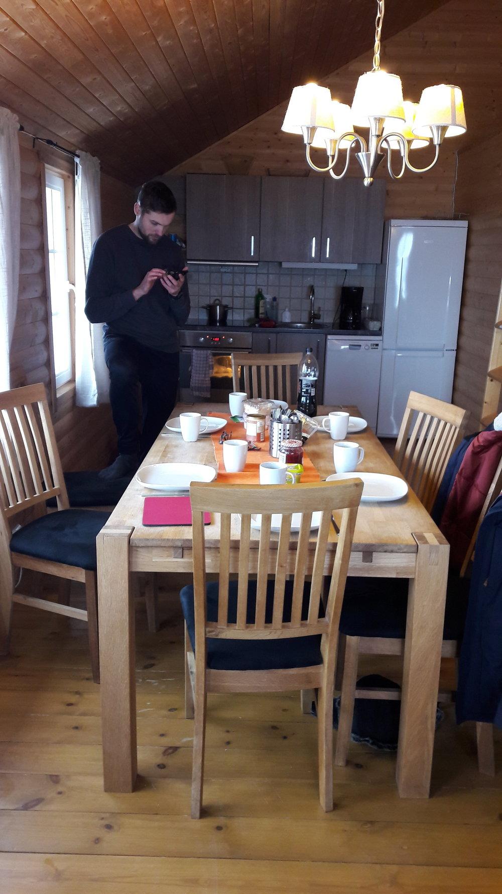 De ontbijttafel