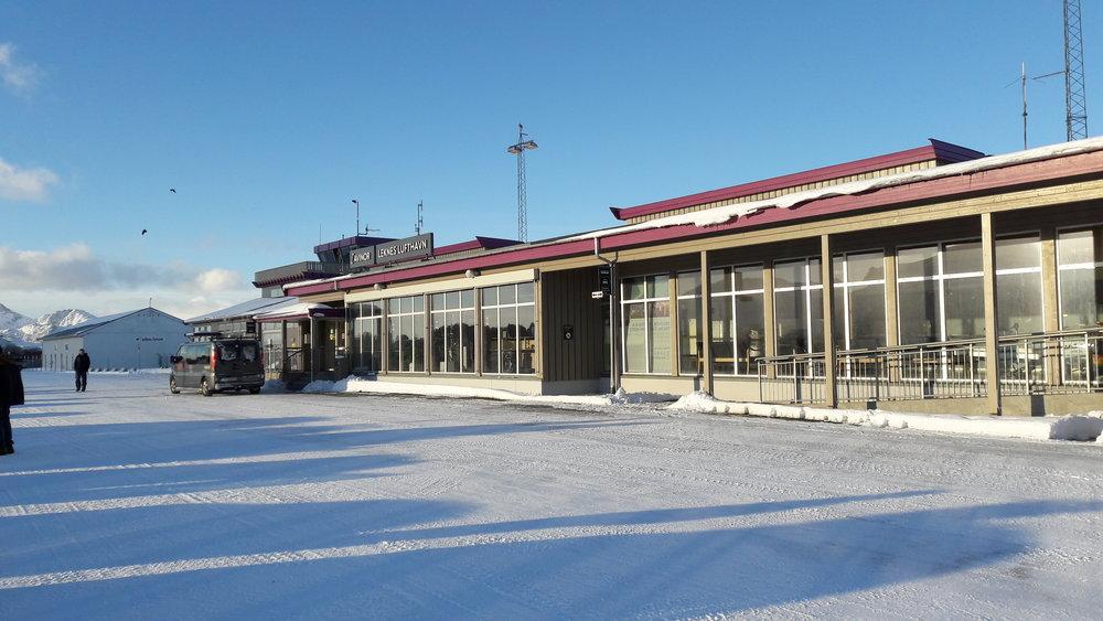 Luchthaven van Leknes