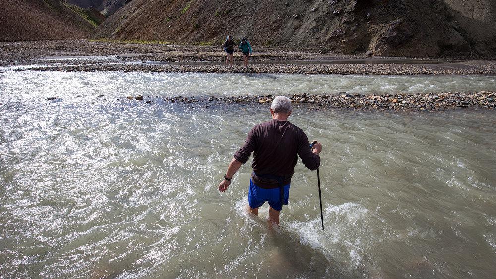De eerste en laagste rivierdoorsteek
