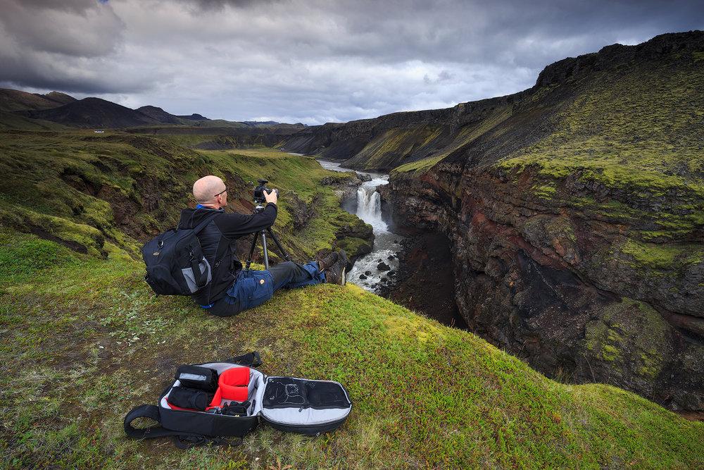 Fotograferen en relaxen tegelijkertijd!