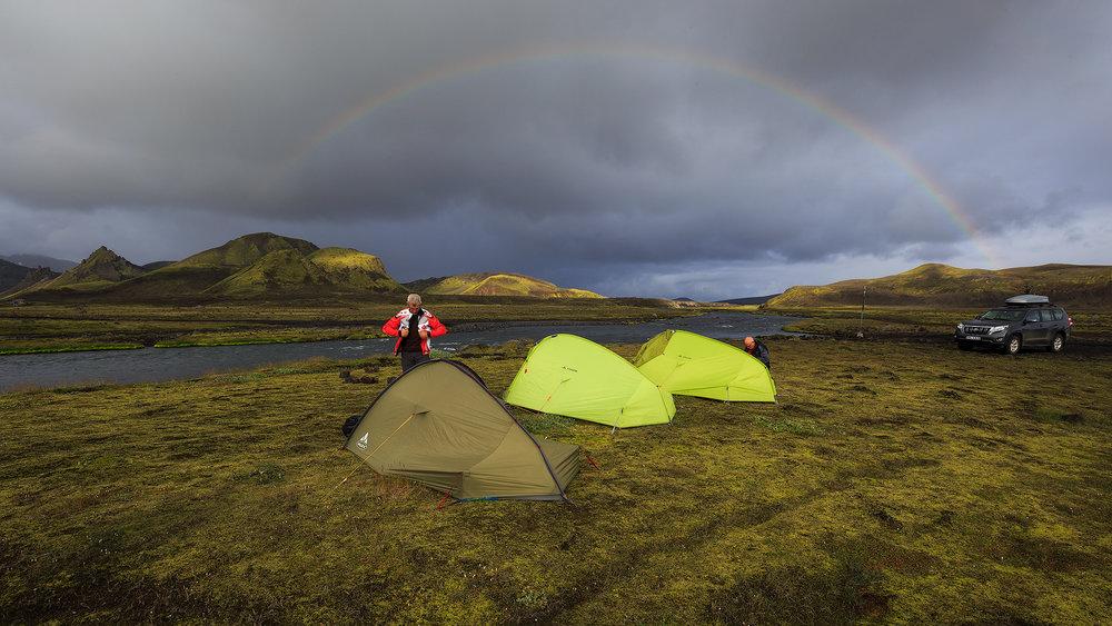tenten + regenboog