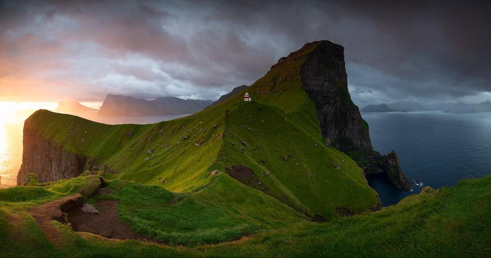 De Faroër in al zijn glorie.