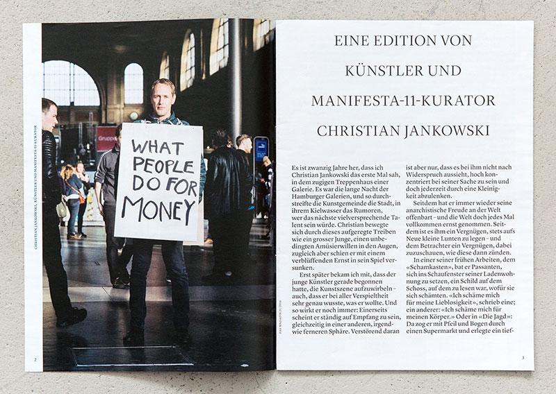 Edition von Christian Jankowski / Das Magazin