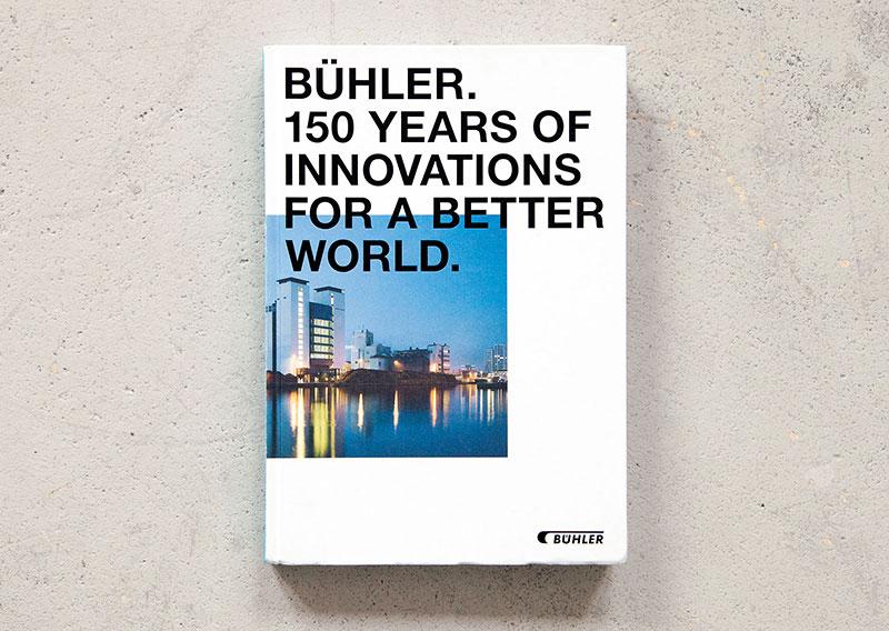 Zum 150sten Jubiläum des Technologiekonzerns BÜHLER
