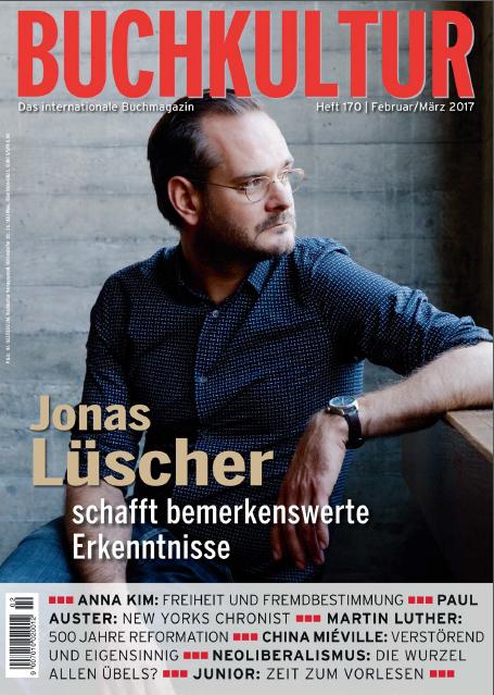 """Heute, 27. Januar 2017,erscheint Jonas Lüschers neuer Roman """"Kraft"""". Lesen!"""