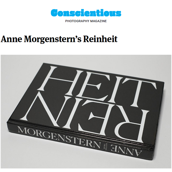 Jörg Colberg about REINHEIT in  Conscientious Photography Magazine