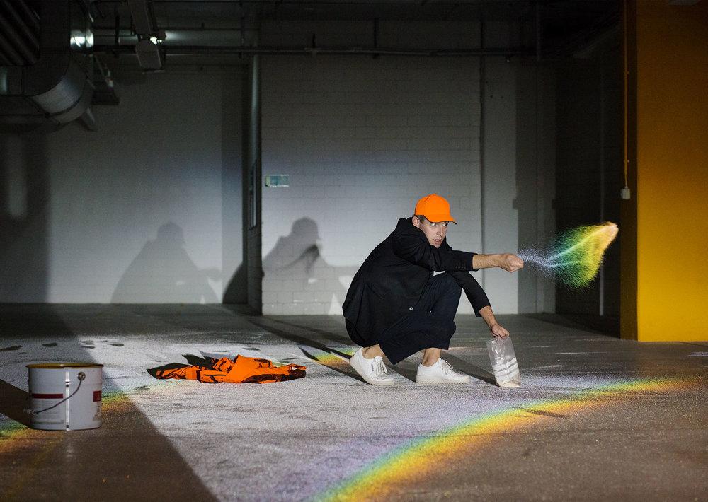 Schweizer Künstler - Raphael Hefti,  ZKB