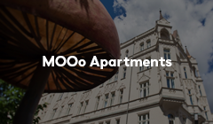 Mews MOOo Apartments link hotellanding page
