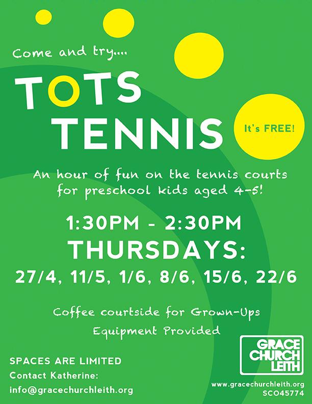 kids tennis leith links