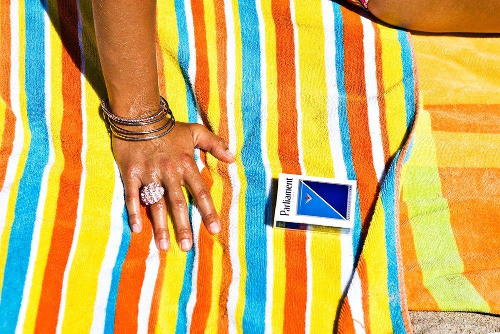 Cheryl Maeder Cigarette Girl