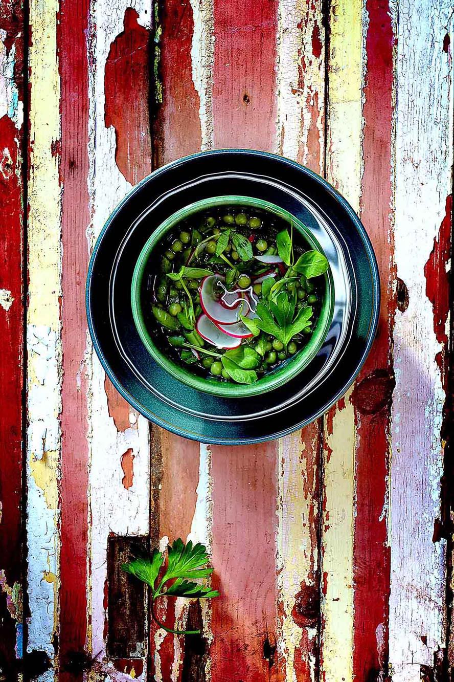 Kevin Mallett Peas & Salad Bowl
