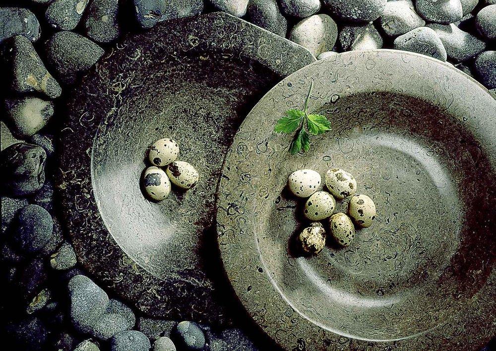Kevin Mallett Quail Eggs