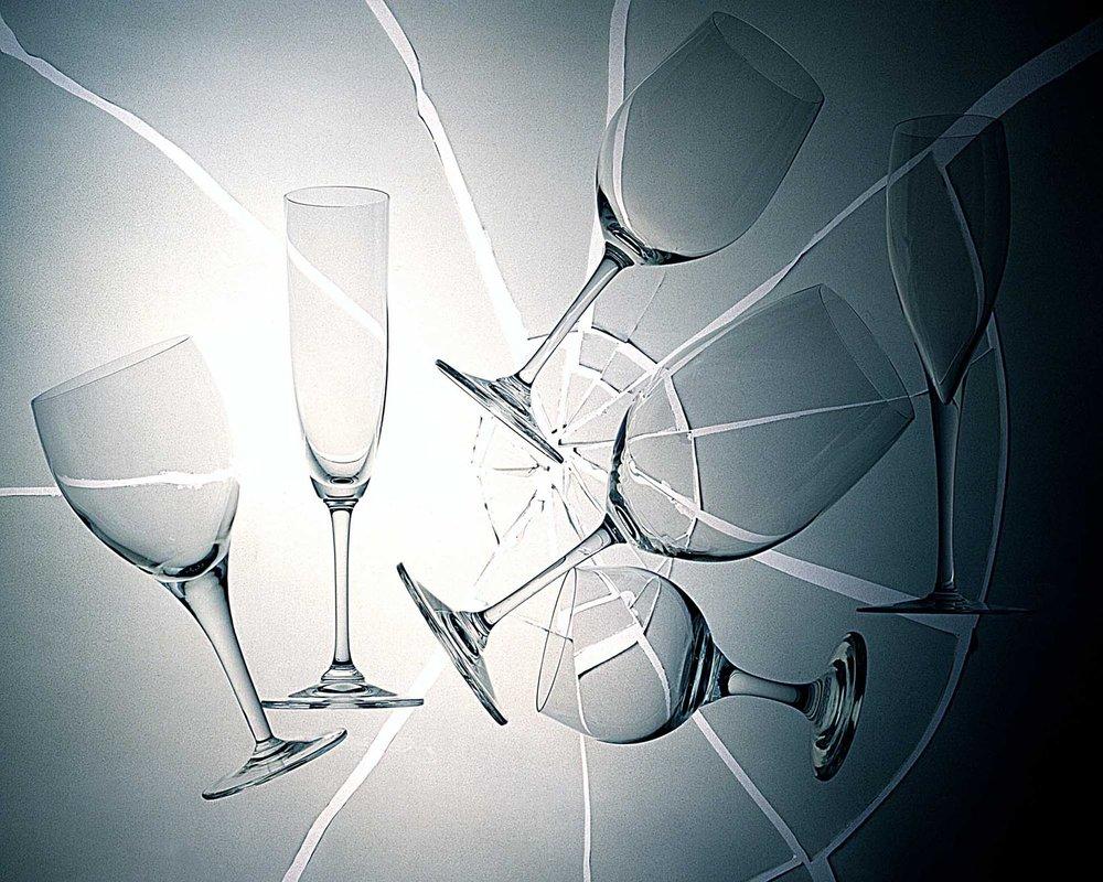 Kevin Mallett Glassware