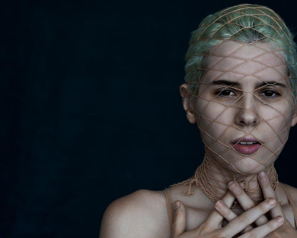 Demetrius Fordham Portrait with Net