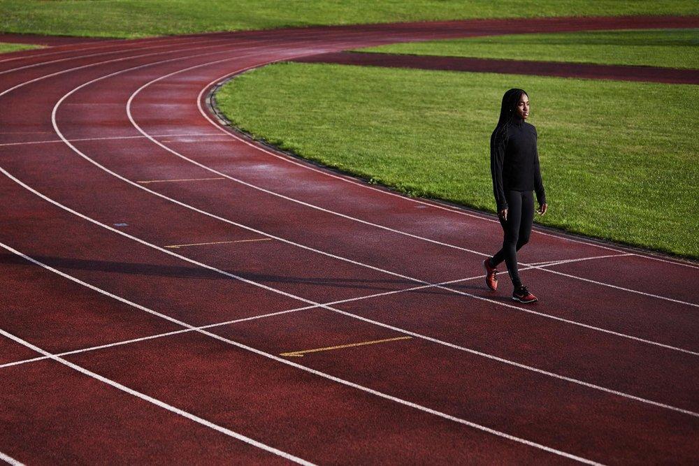 Duncan Nicholls Running Track
