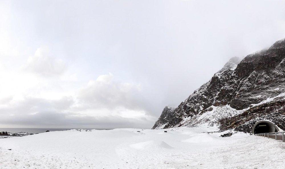 Richard Wadey Snowscape Panorama