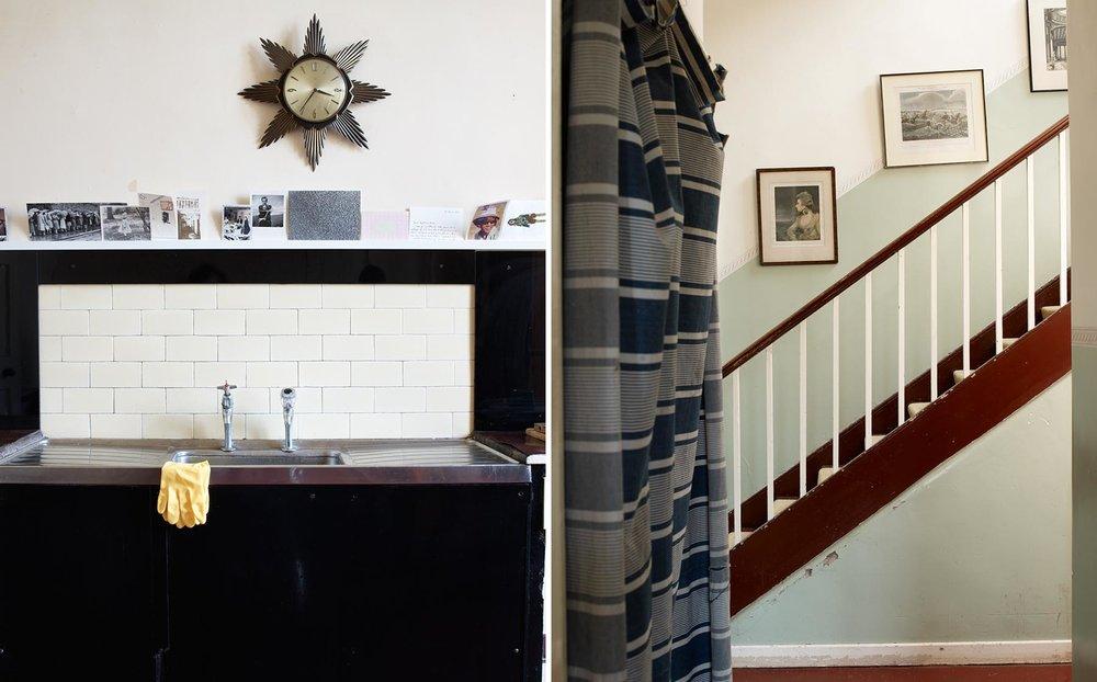 Graham Atkins-Hughes Kitchen Sink & Staircase