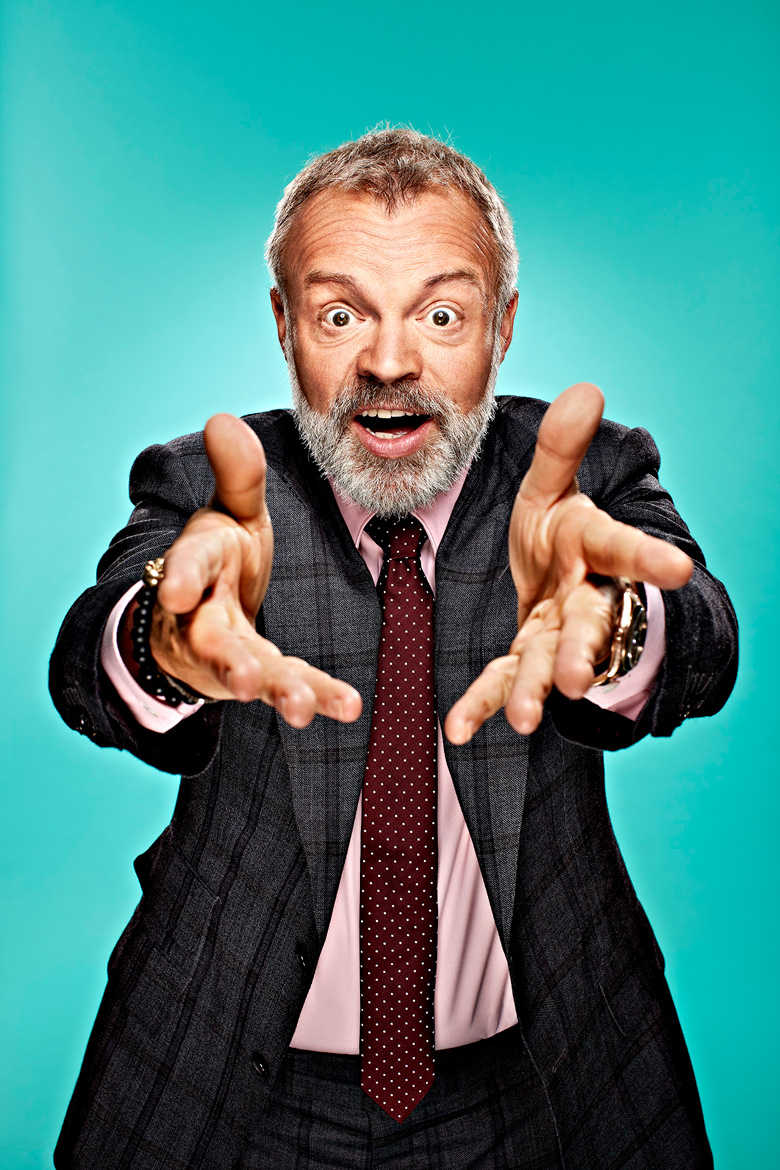 Simon Webb Graham Norton portrait