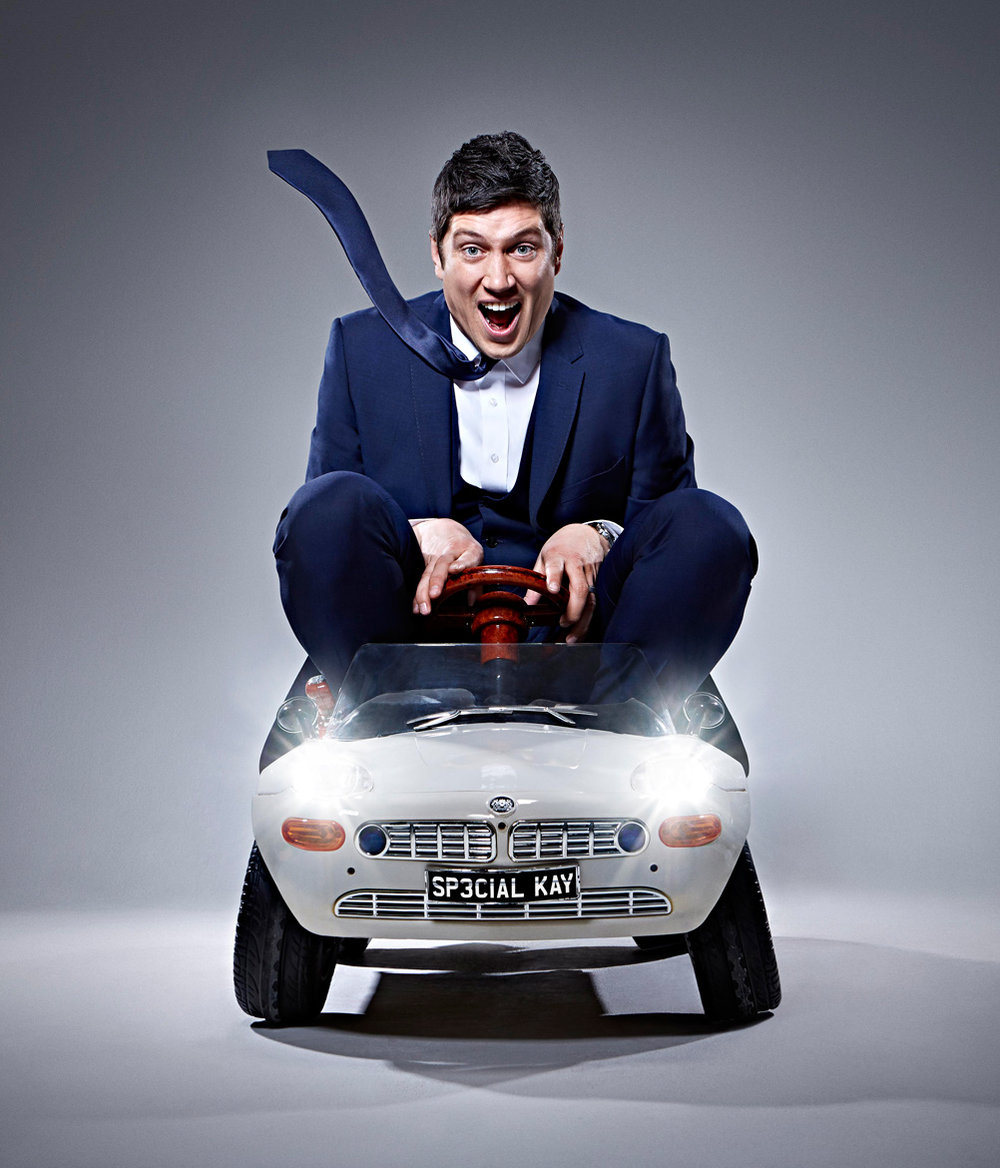 Simon Webb - Vernon Kay - childrens car