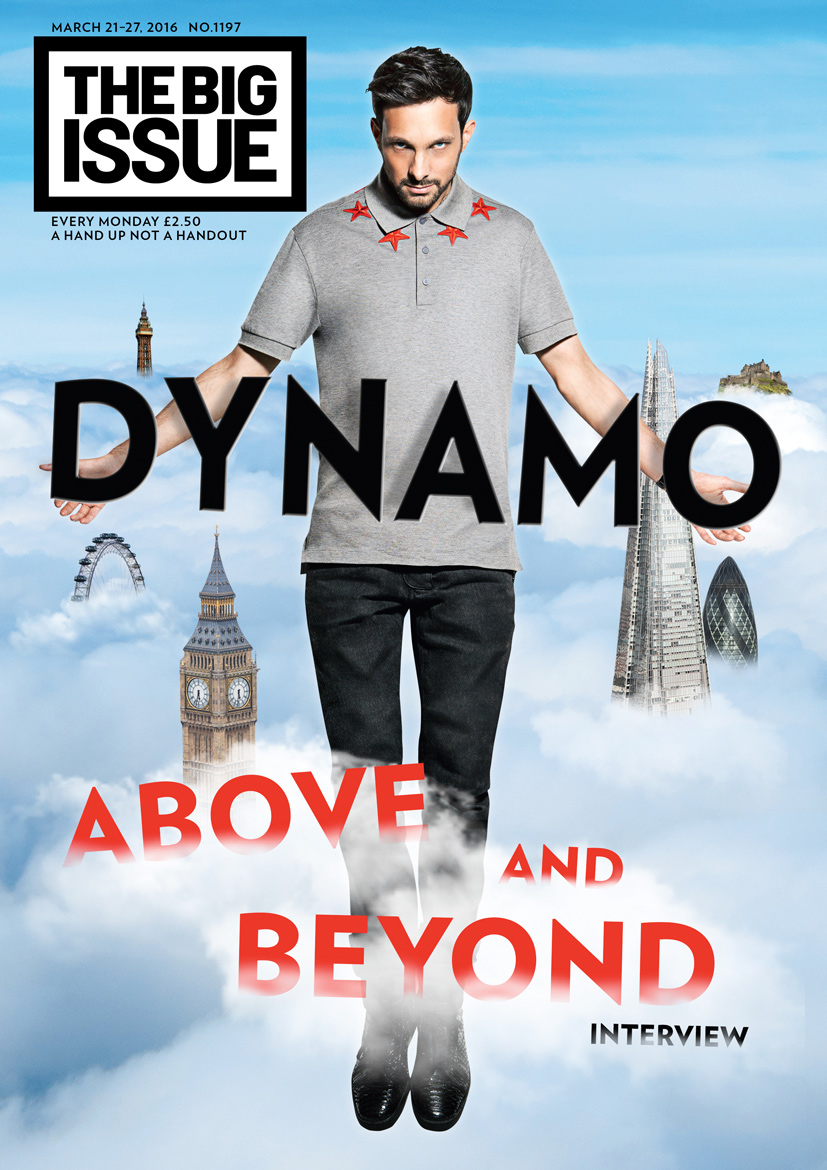 Simon Webb - Dynamo - The Big Issue