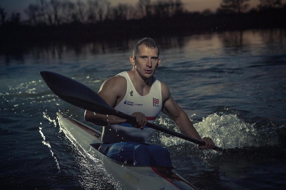 Richard Wadey - athlete canoeing