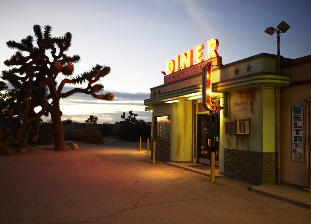 Grant Smith - LA Diner at Dusk