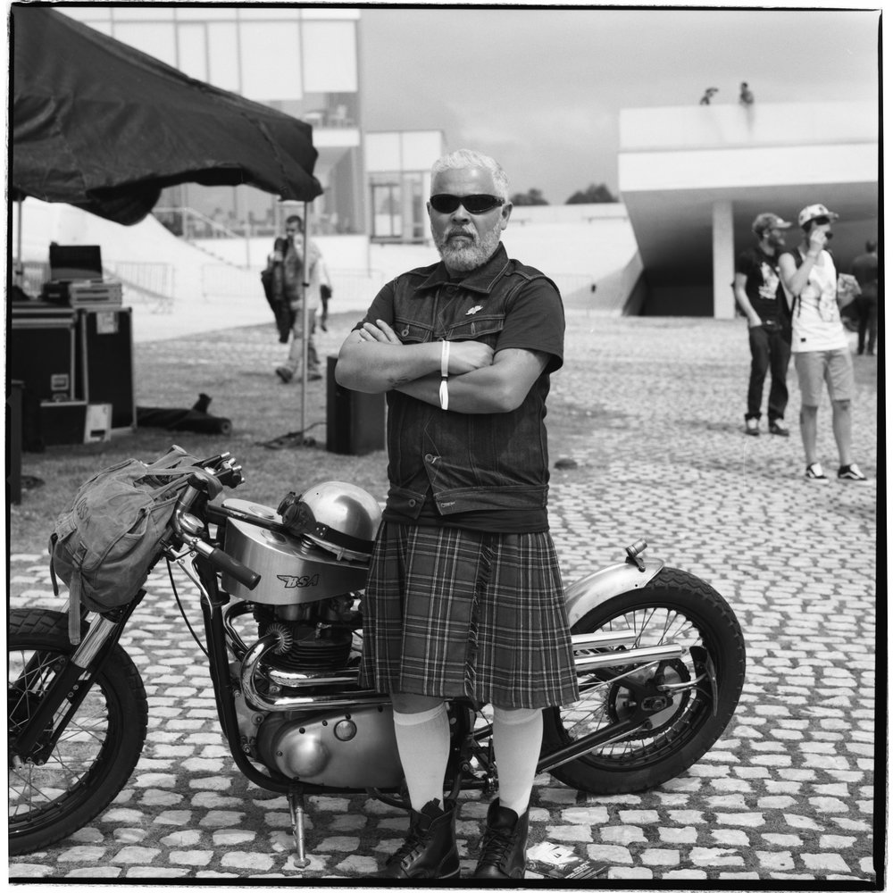 Grant Smith - Biker in kilt