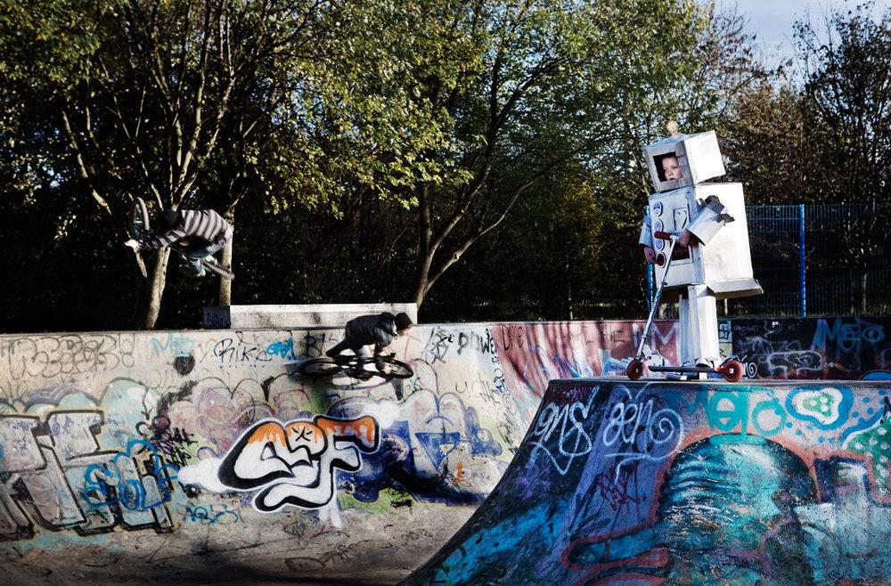Dan Prince - Robot at Skate park