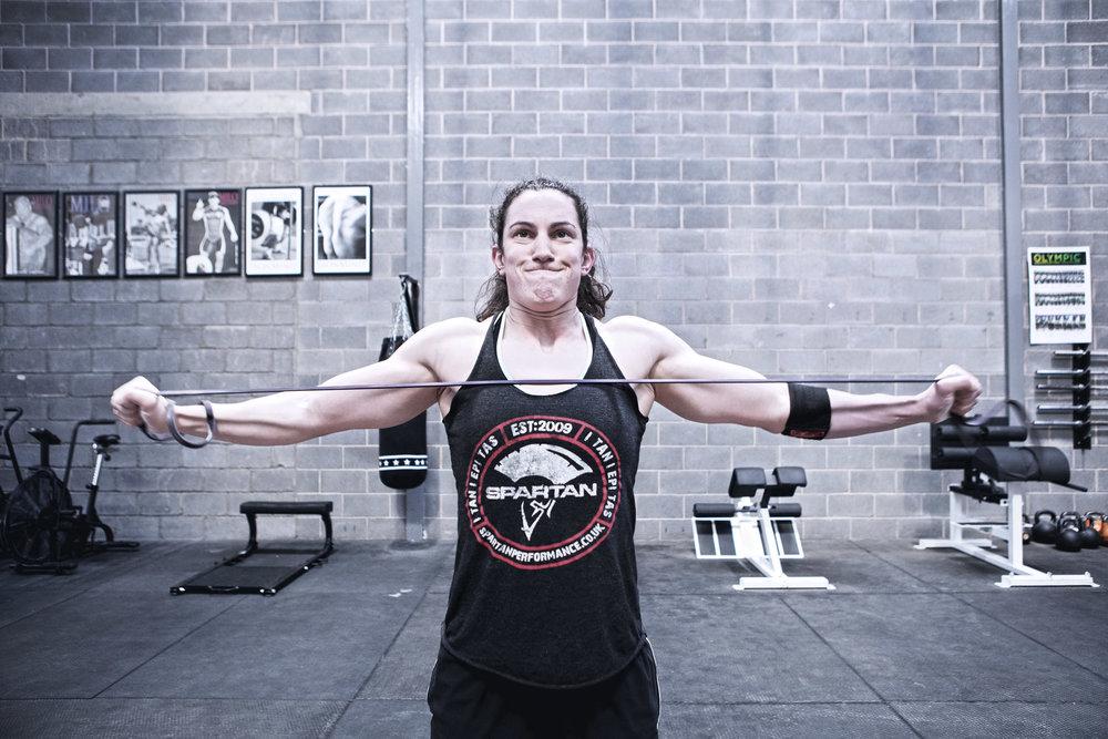 Dan Prince - Jenny Todd - exercising