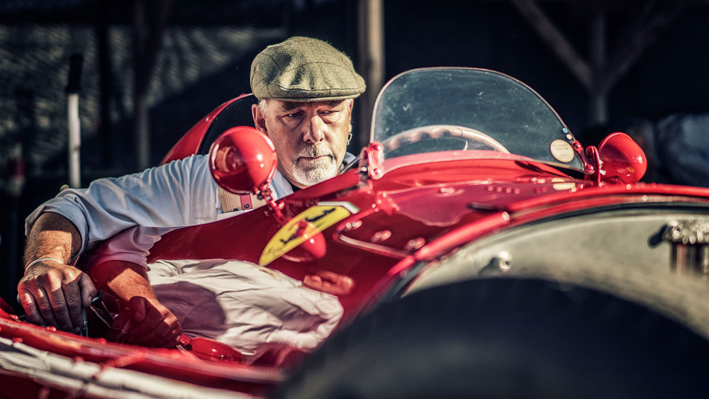 Nigel Harniman - Goodwood revival ferrari