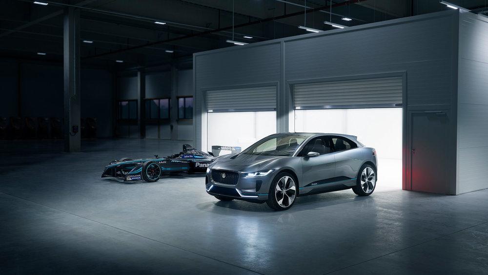Nigel Harniman Jaguar ipace itype