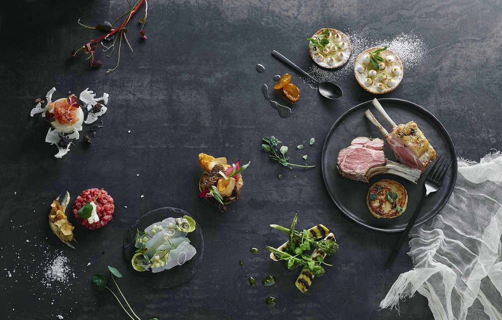 Lars Ranek - platter of foods
