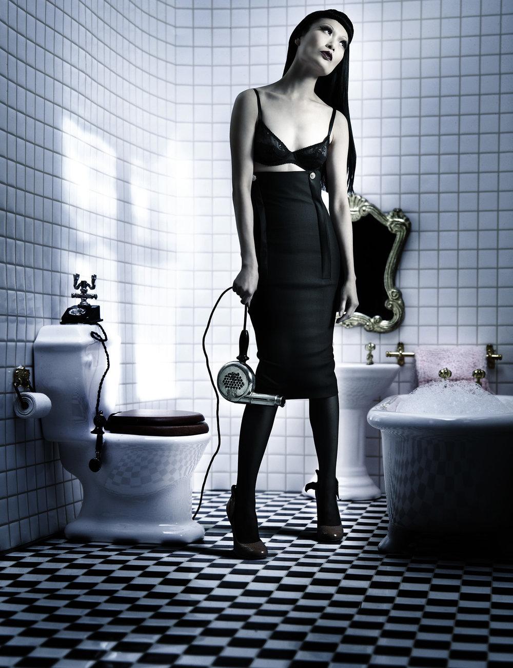 Anatol de Cap Rouge - growing up - bathroom