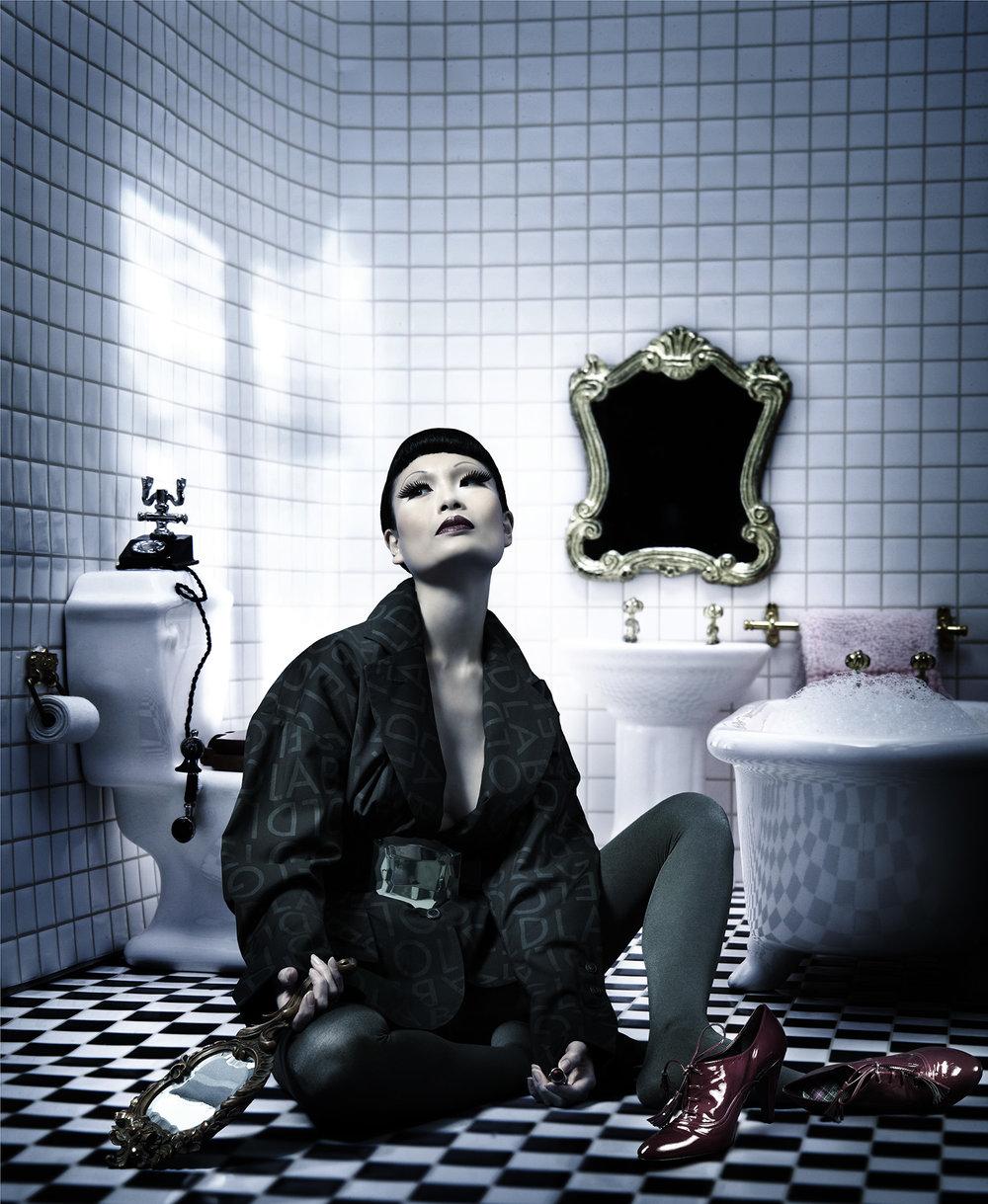 Anatol de cap Rouge - growing up - bathroom 2