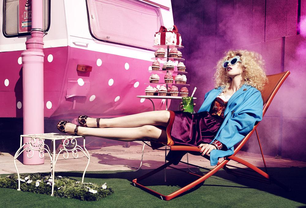 Anatol de cap Rouge - cakes and road trips - deckchair