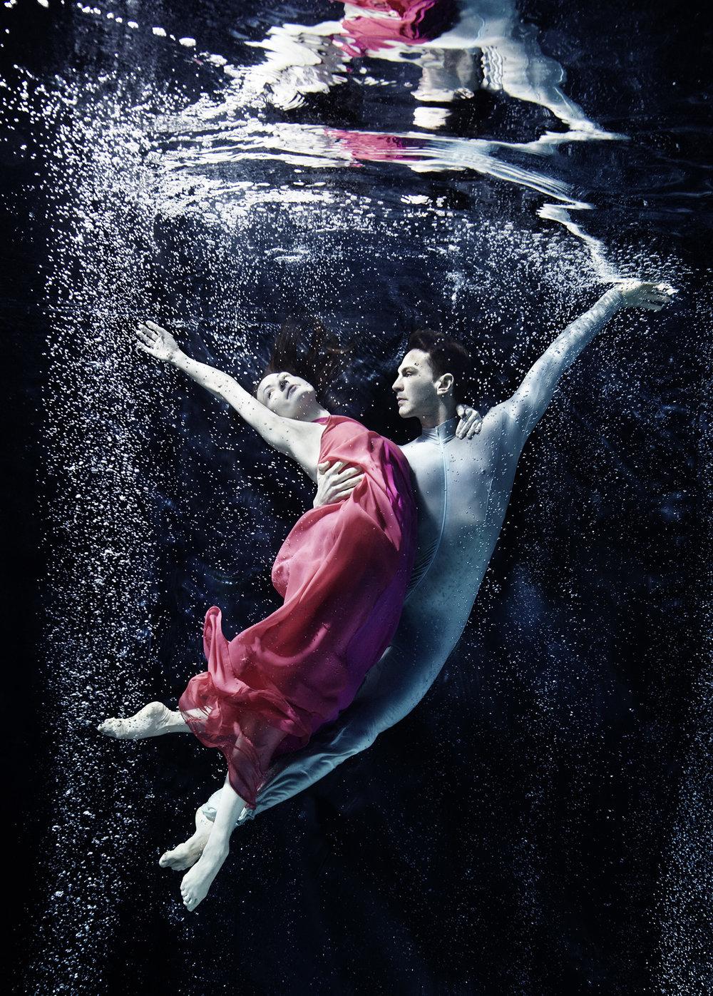 Susanne Stemmer underwater ballet