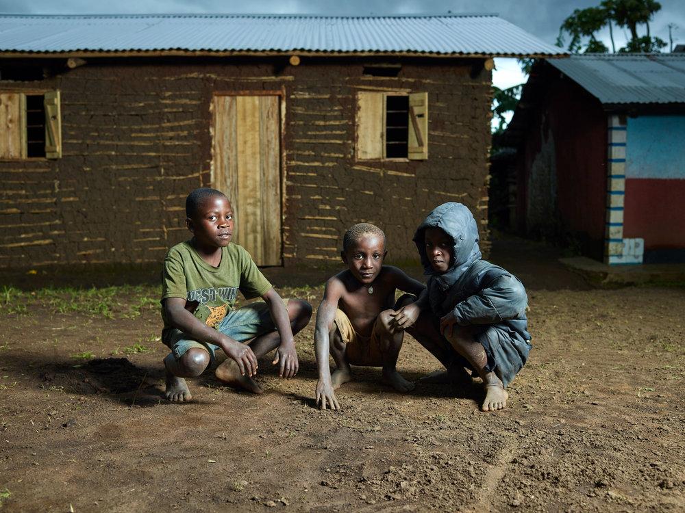 Uganda - Village boys